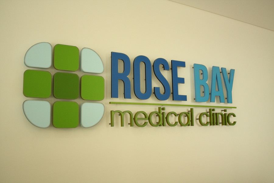 Rose Bay Foyer Signage