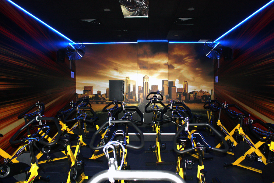 Fitness Studio Wall Graphics