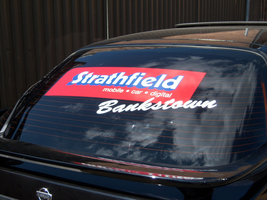 Strathfield Window Vehicle Decal