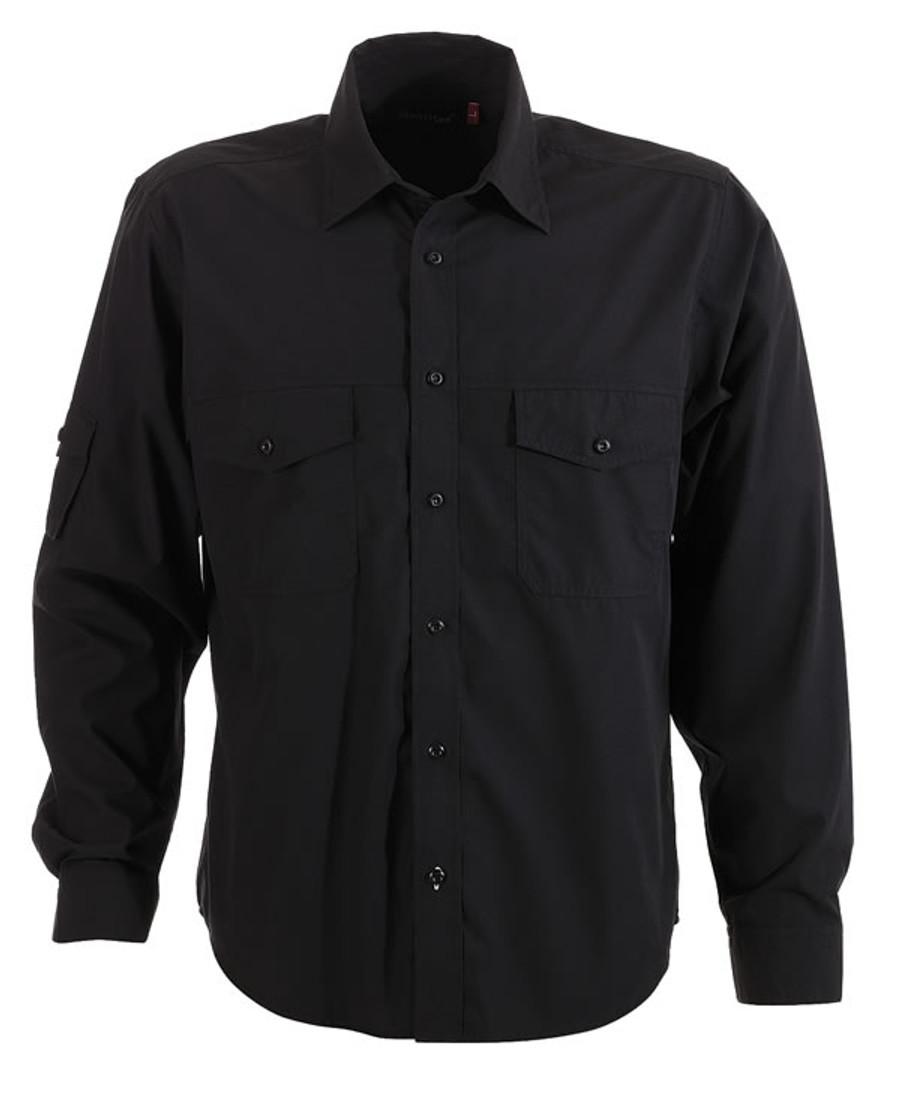 Mens L/S Harley Business Shirt (Black)