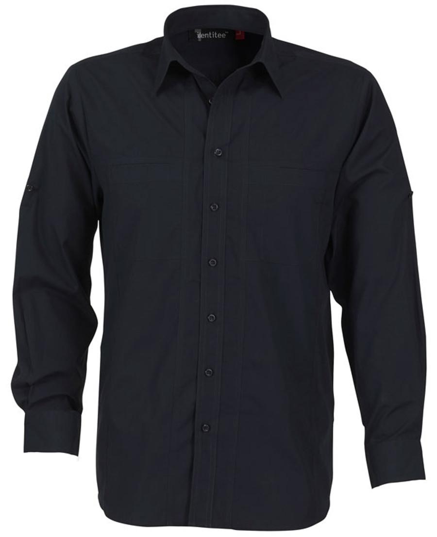 Mens L/S Aston Business Shirt (Ink)
