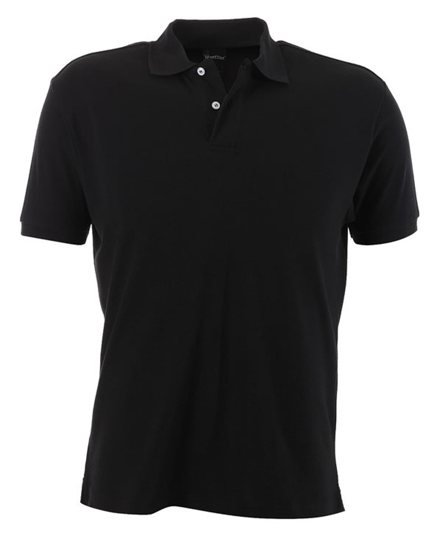 Mens Venice Polo Shirt (Black)