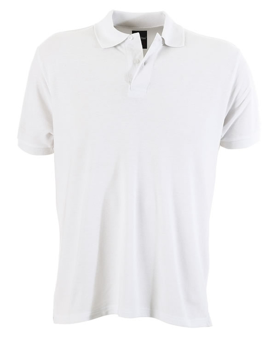 Mens Venice Polo Shirt (White)