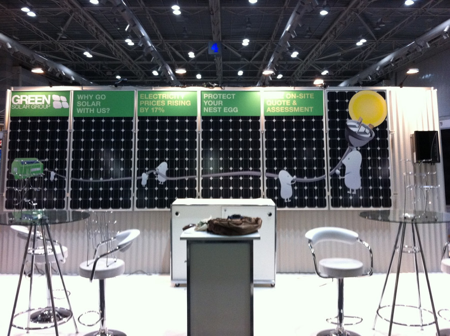 Green Solar Exhibitions Graphics