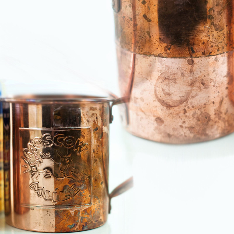 Caring for Solid Copper Mugs