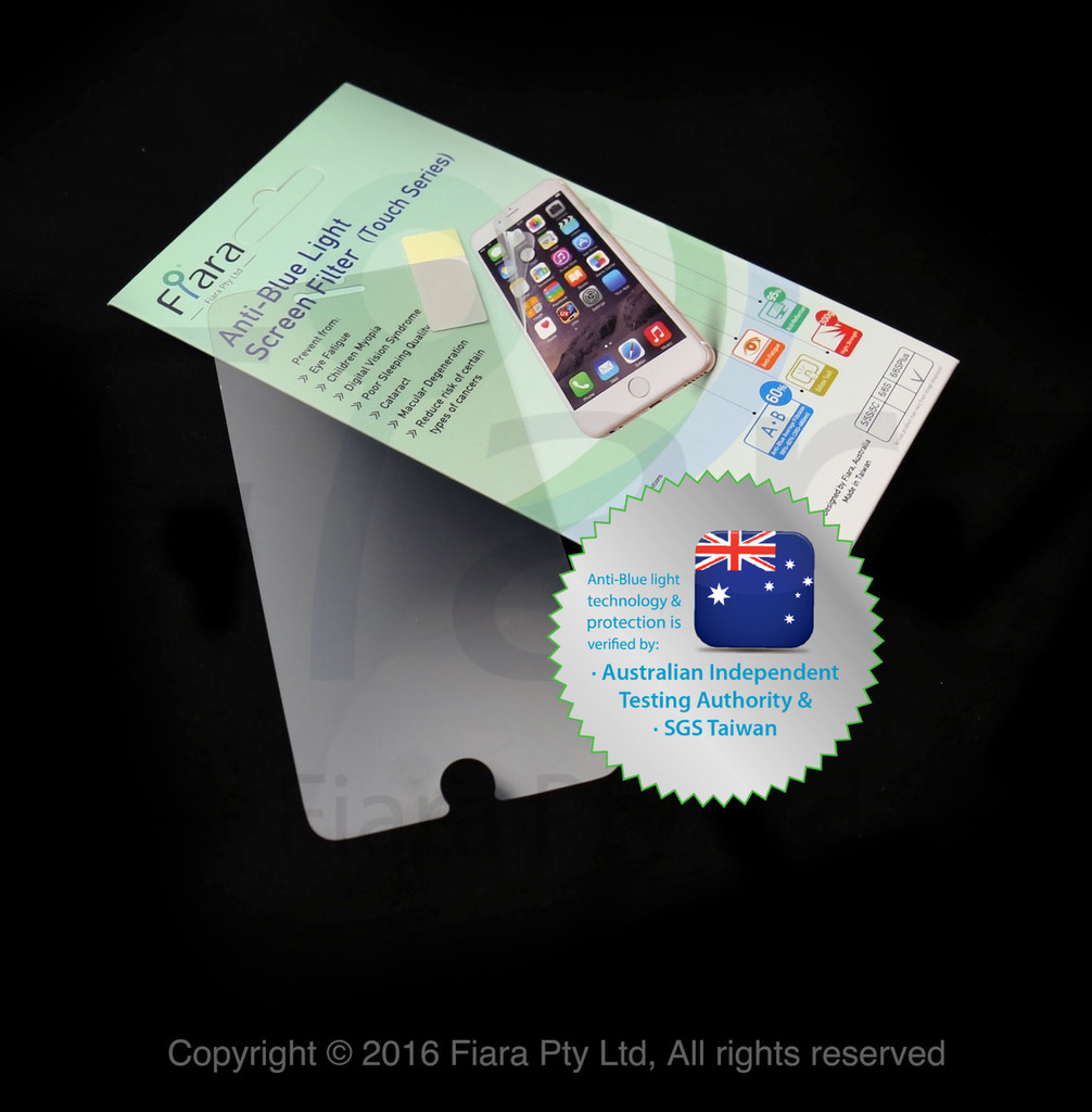 """Anti-Blue Light Screen Filter (BLP-PETAG Touch Series) : Fits to Apple iPhone 6 Plus/6s Plus (5.5"""" inch)"""