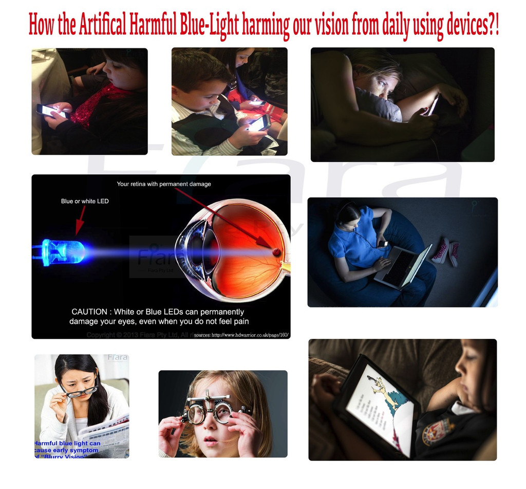 "Anti-Blue Light Screen Filter (BLP-PETAG Touch Series) : Fits to Apple iPad 2/3/4 (9.7"" inch)"