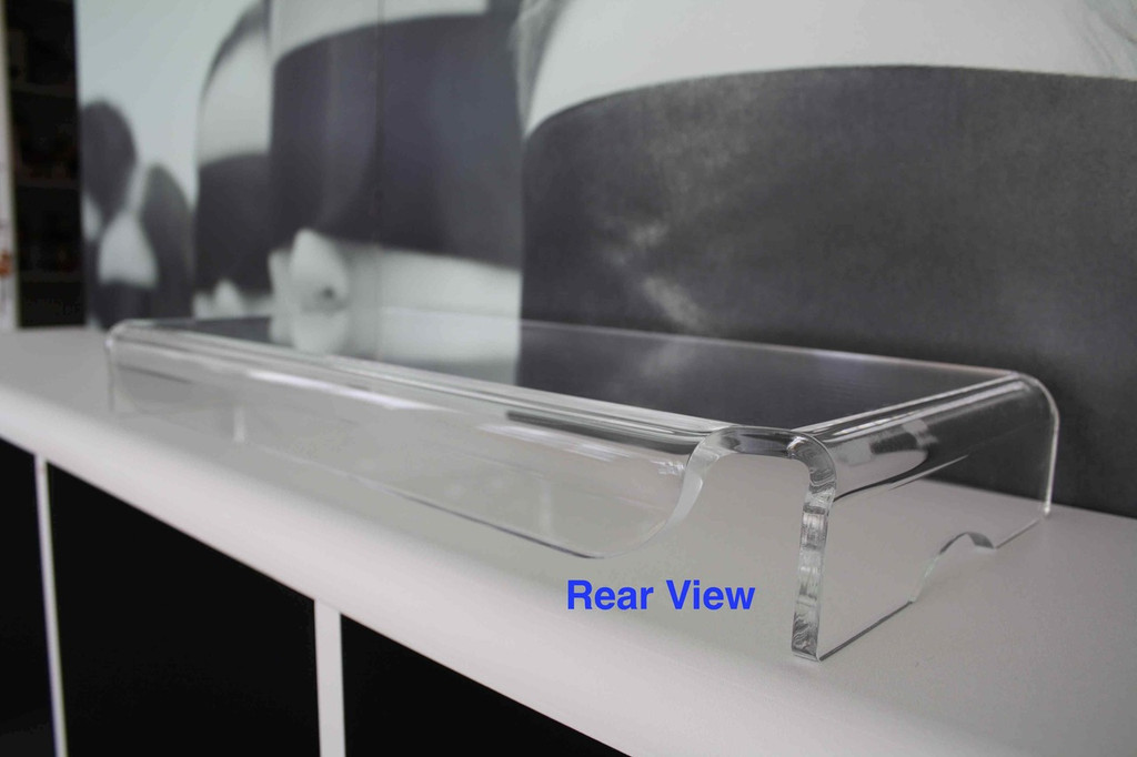 MS-K080 Acrylic Monitor Stand (W535 x H80 x D260mm; Stand Thickness 8.0mm)