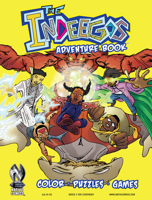 The Indeegos Adventure Book