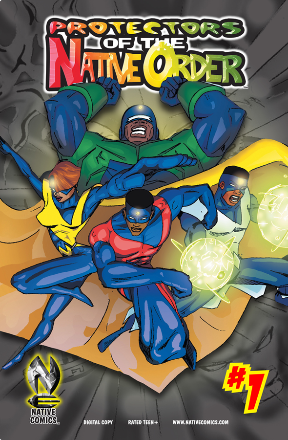 Protectors of the Native Order #1- Digital Copy
