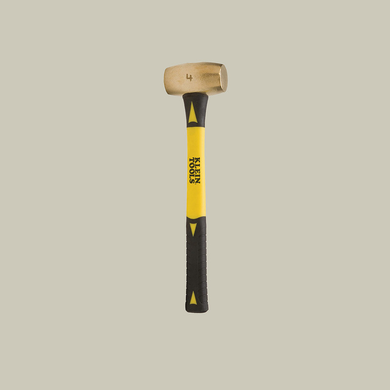 Non-Sparking Hammer, 4lbs