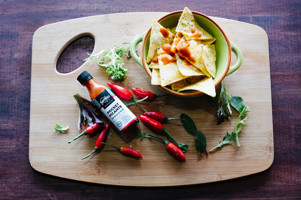 Pocket picante great on everything