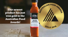We are so proud of our new hot sauce