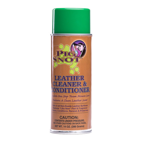Pig Snot Leather Cleaner & Conditioning Foam Mousse