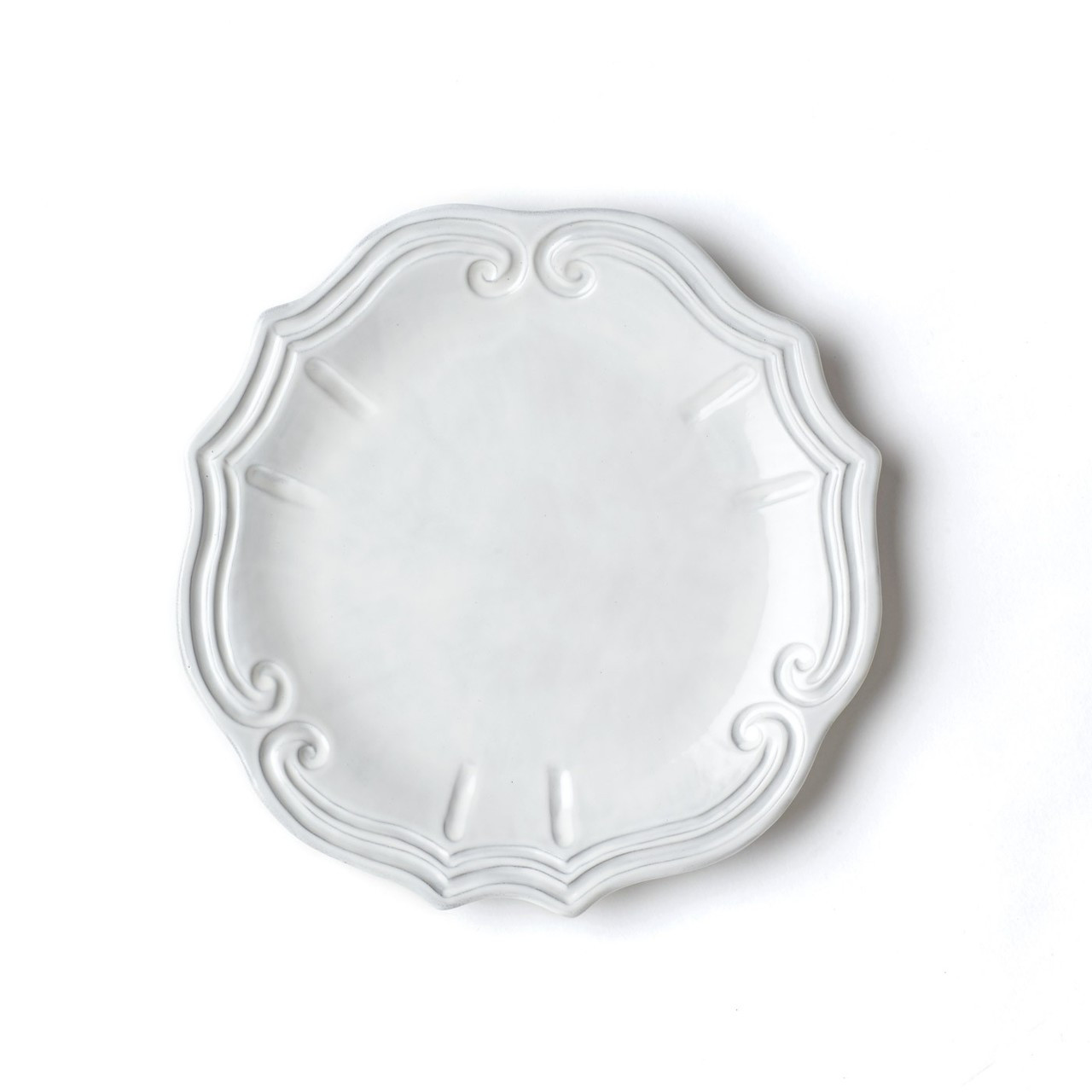 Inspired by the architectural curves of 17th century Europe the Incanto Baroque European Dinner Plate  sc 1 st  Plum Pudding & Vietri Incanto Baroque European Dinner Plate