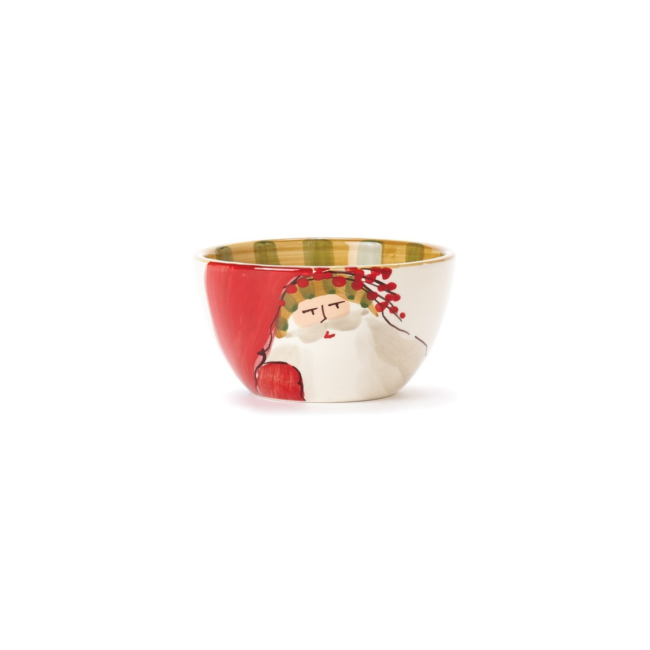 Add whimsical flare to your dinnerware this Christmas with the Old St. Nick Cereal Bowl  sc 1 st  Plum Pudding & Vietri Old St. Nick Animal Hat Cereal Bowl
