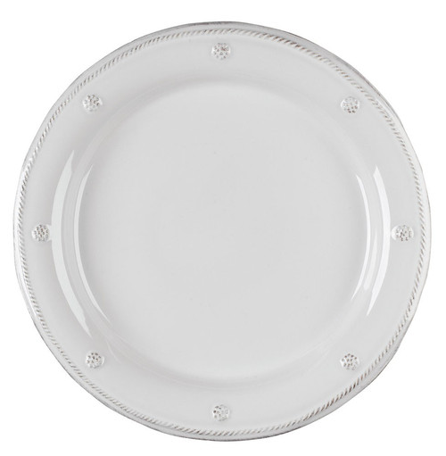 Berry u0026 Thread Whitewash Dinner Plate ? JDR/W From our Berry u0026 Thread Collection  sc 1 st  Plum Pudding & Juliska Berry u0026 Thread French Panel Whitewash Dinner Plate