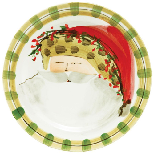 Our Old St. Nick Animal Hat Dinner Plate is handpainted by maestro artisan Alessandro Taddei  sc 1 st  Plum Pudding & Vietri Old St Nick