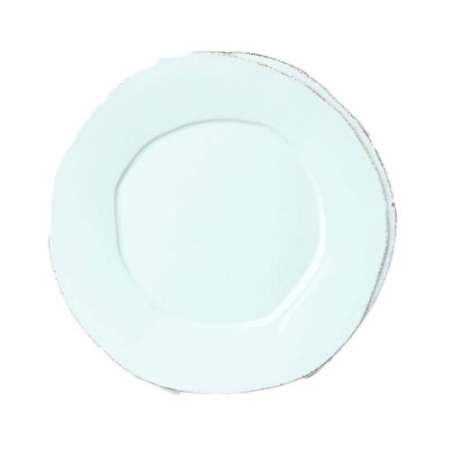 The rustic yet chic shape of the Lastra Aqua European Dinner Plate looks clean and sophisticated ...  sc 1 st  Plum Pudding & Vietri Lastra Aqua European Dinner Plate