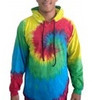 Tye Dye Rainbow With hoodie, 100% cotton
