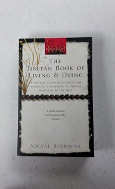 The Tibetan Book of Living & Dying Author: Rinpoche Sogyal  What is it I hope for from this book? To inspire a quiet revolution in the whole way we look at death and care for the dying and the whole way we look at life, and care for the living' Written by Buddhist meditation master and popular international speaker Soygal Rinpoche, this highly acclaimed book clarifies the majestic vision of life and death that underlies the Tibetan tradition. It includes not only a lucid, inspiring and complete introduction to the practice of meditation but also advice on how to care for the dying with love and compassion, and how to bring them help of a spiritual kind. But there is much more besides in this classic work, which was written to inspire all who read it to begin the journey to enlightenment and so become 'servants of peace' working in the world.