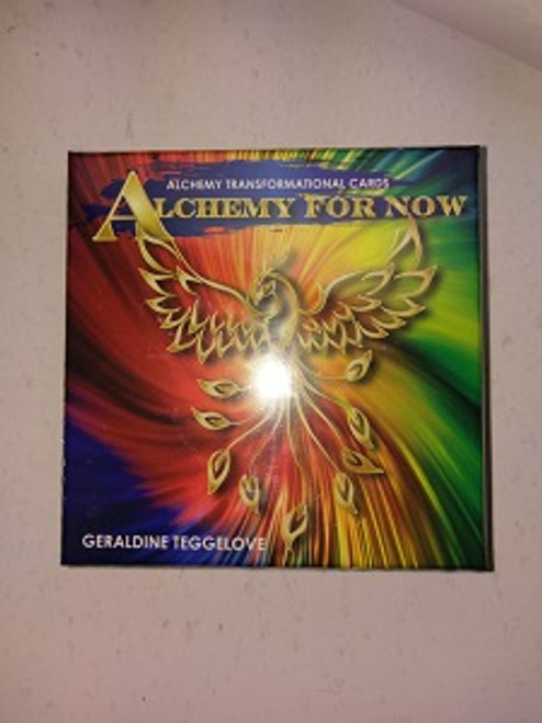 Alchemy for Now.  By Geraldine Teggelove. Alchemy transformational cards. You can use the cards daily & have the ability to turn your inner gold into outer wealth, health & happiness.