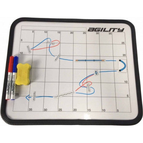 Magnetic Agility Course Planner