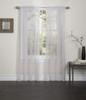 Lisa Sheer Voile Window Curtain Panel - Beige
