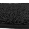 Layla Oversized 3 Piece Shaggy Bathroom Rug Set, Bath Mat, Contour Rug, Lid Cover, Solid Colors