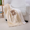 "Noble House Embroidery Baby Blanket, 30""x40"", Soft Plush Cozy Adorable Design"