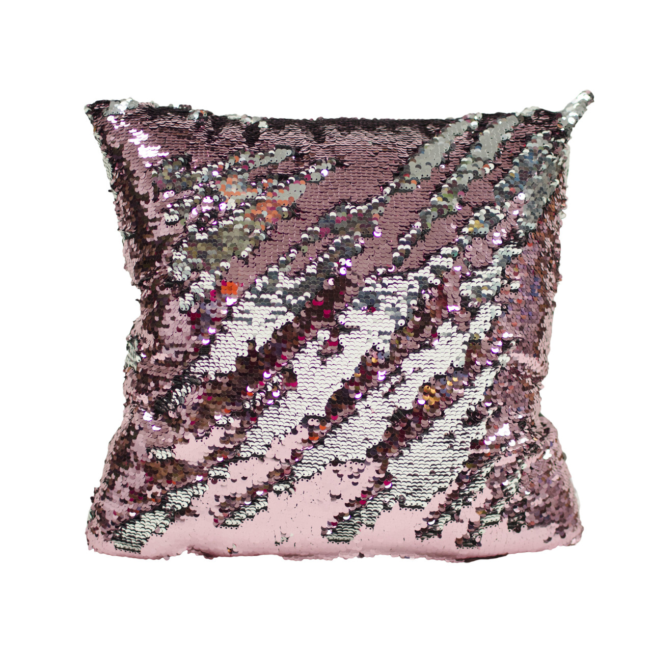 Decorative Sequin Throw Pillow 17x17 Inch, Comfortable Fill For ...