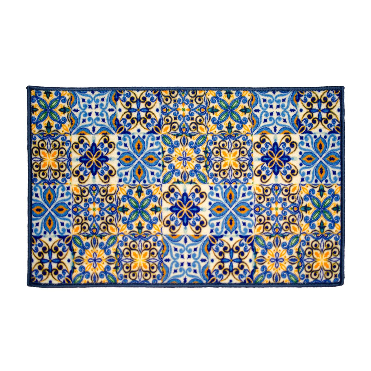 Kashi Home Gardena Egyptian Decor Accent Area Rug, Floor Mat - Linen ...