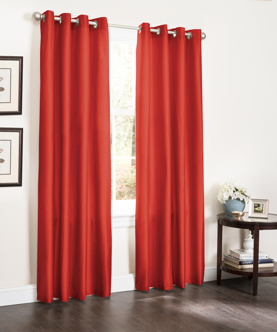 blackout patio curtain ebay insulated curtains panels barn itm sliding burgundy s thermal door