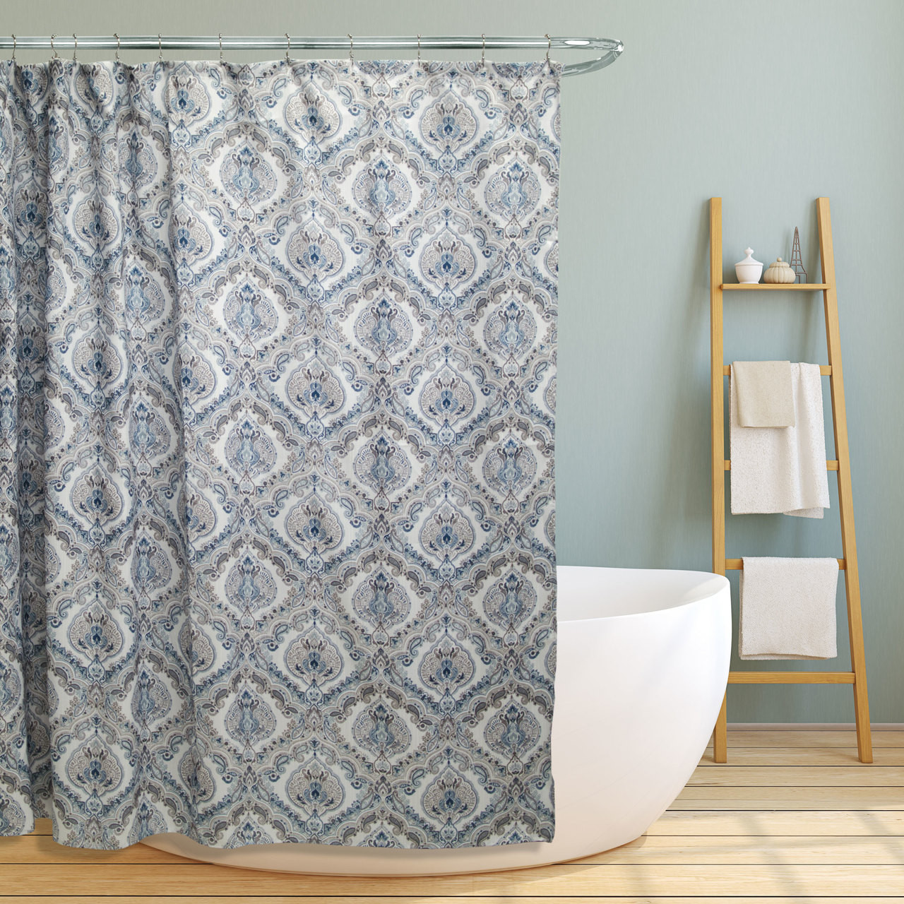 iron your steel white curtains pattern striped liner bar shower for curtain inspiring table grey pole area fabric brown