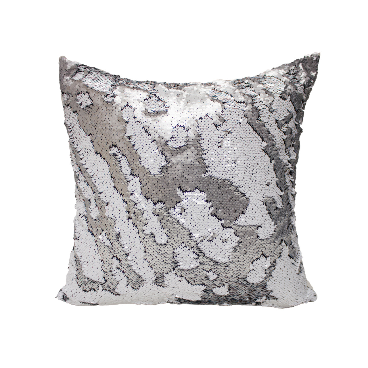 Decorative Sequin Throw Pillow 18x18 Inch, Comfortable Fill For ...