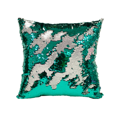 Merveilleux Decorative Sequin Throw Pillow 17x17 Inch, Comfortable Fill For Living  Room, Couch, Bedroom