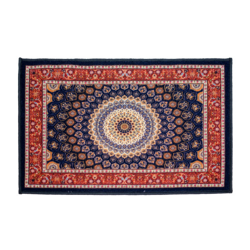 Kashi Home Attica Egyptian Decor Accent Area Rug, Floor Mat