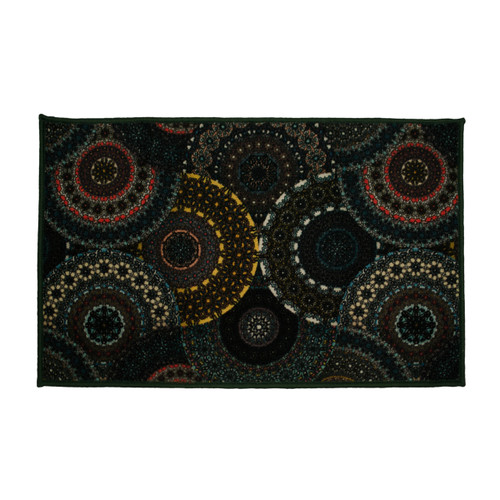 Kashi Home Waverly Egyptian Decor Accent Area Rug, Floor Mat
