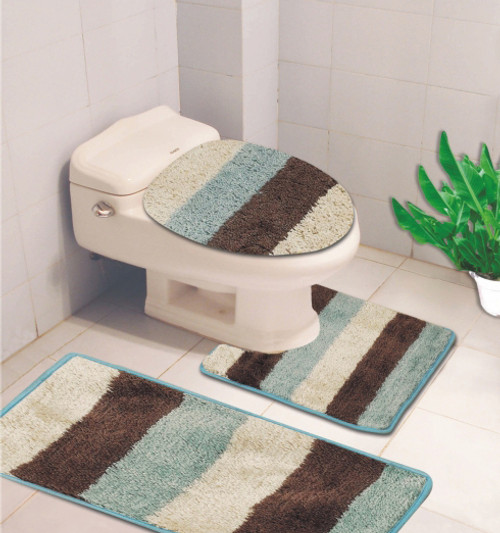 Denise 3 Pc Bath Rug