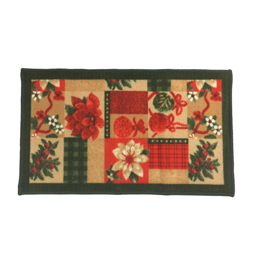 "Non-Skid Christmas Kitchen Rug, Decor Mat, Christmas Gift - 18""x30"""