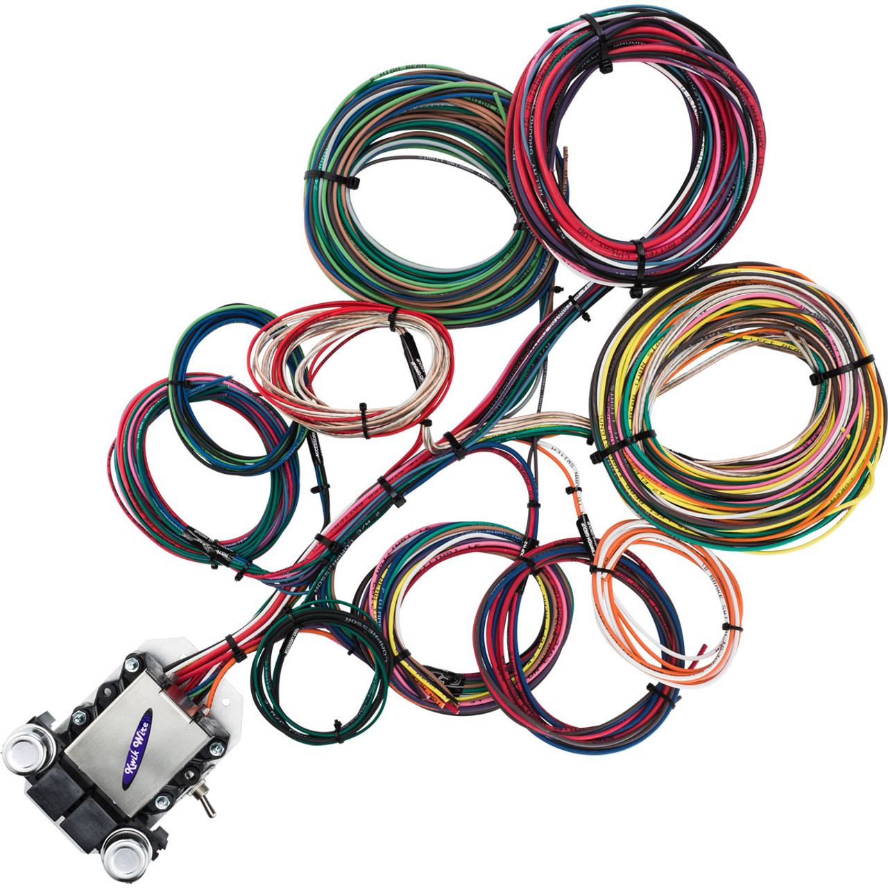 14 circuit ford wire harness kwikwire com electrify your ride rh kwikwire com Cable Harness 1949 Cadillac Wiring Harness New
