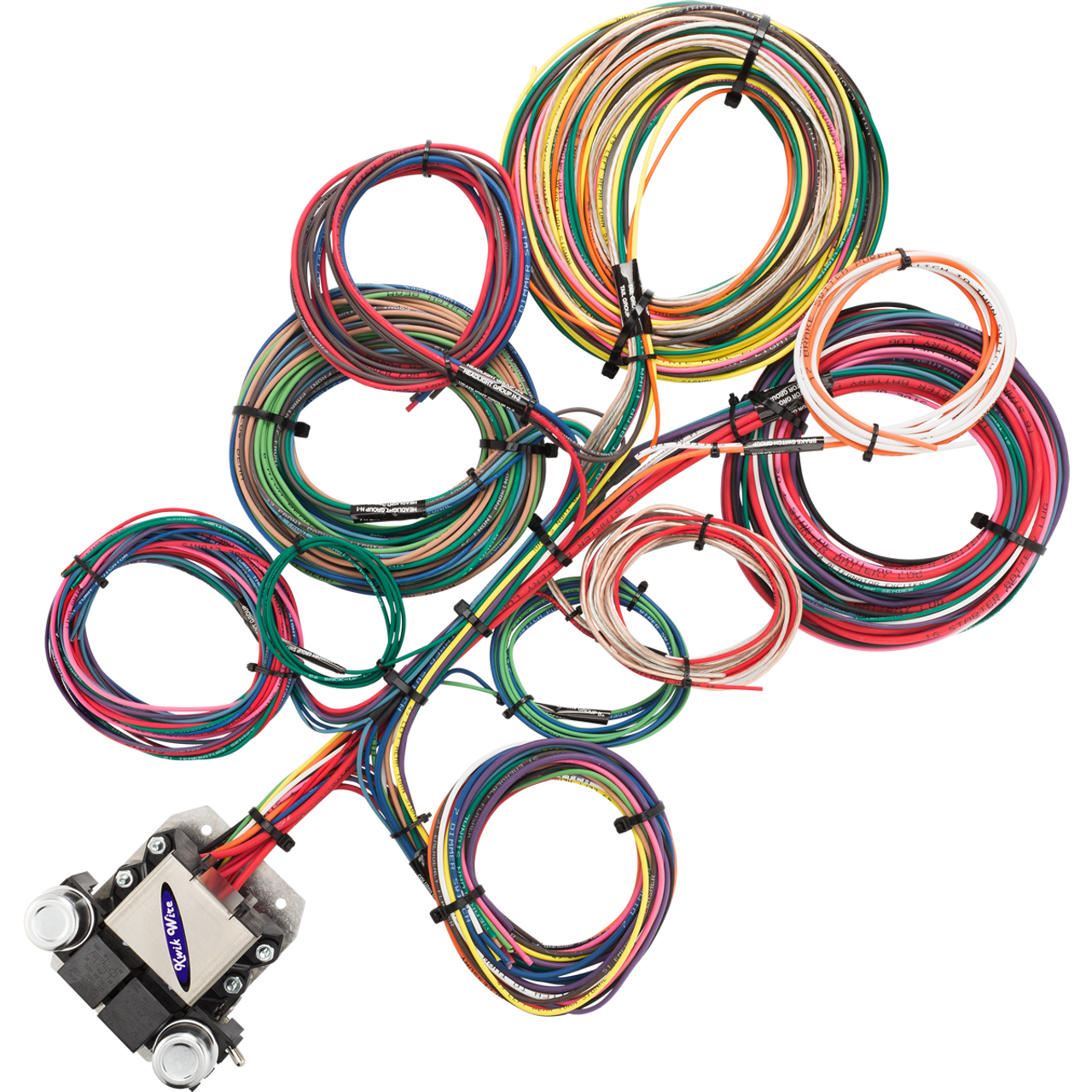 8 Circuit Wire Harness - KwikWire.com | Electrify Your Ride