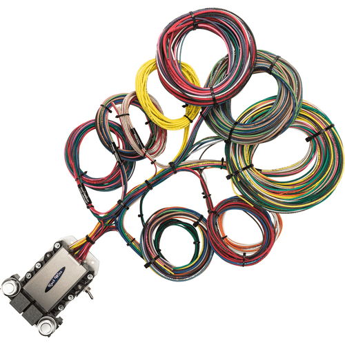 kwik wire electrify your ride auto restoration wiring rh kwikwire com Motorcycle Wiring Harness for 1993 Honda XR100R 7 Pin Wiring Harness Small