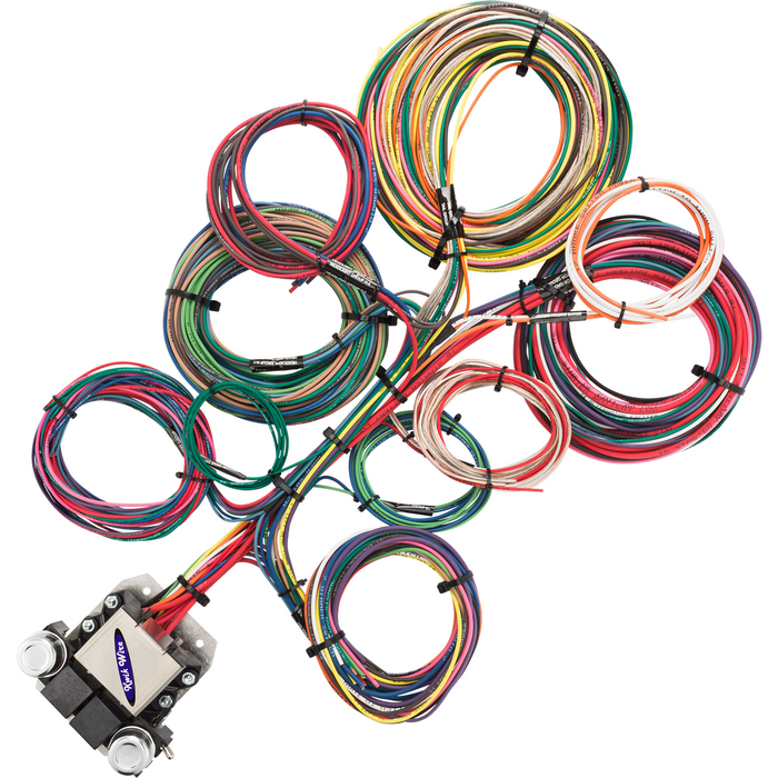 8 circuit ford wire harness kwikwire com electrify your ride rh kwikwire com Automotive Wiring Connectors Assortment Automotive Wiring Connector Kits