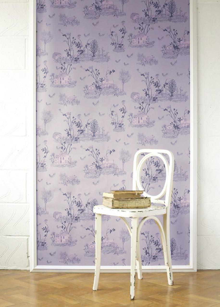 Toile Summer Wallpaper
