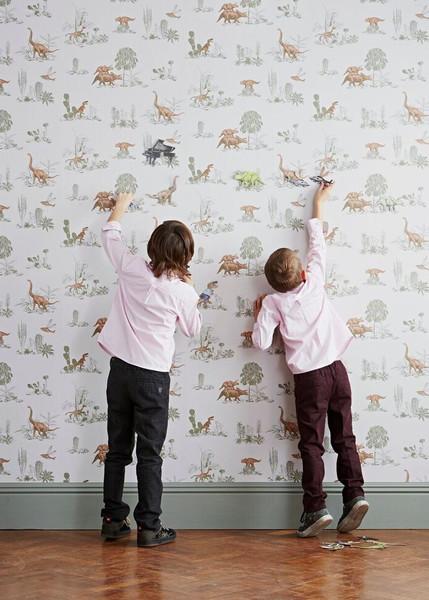 Pink Dino Wallpaper