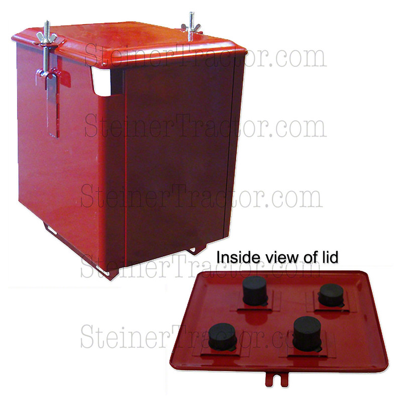 Battery box 4 pc