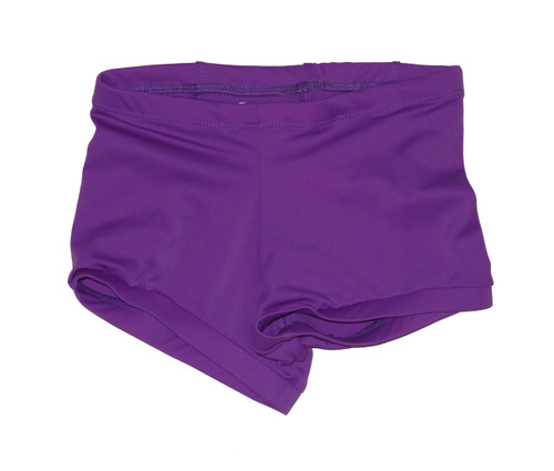 Purple Low Waisted Booty Shorts