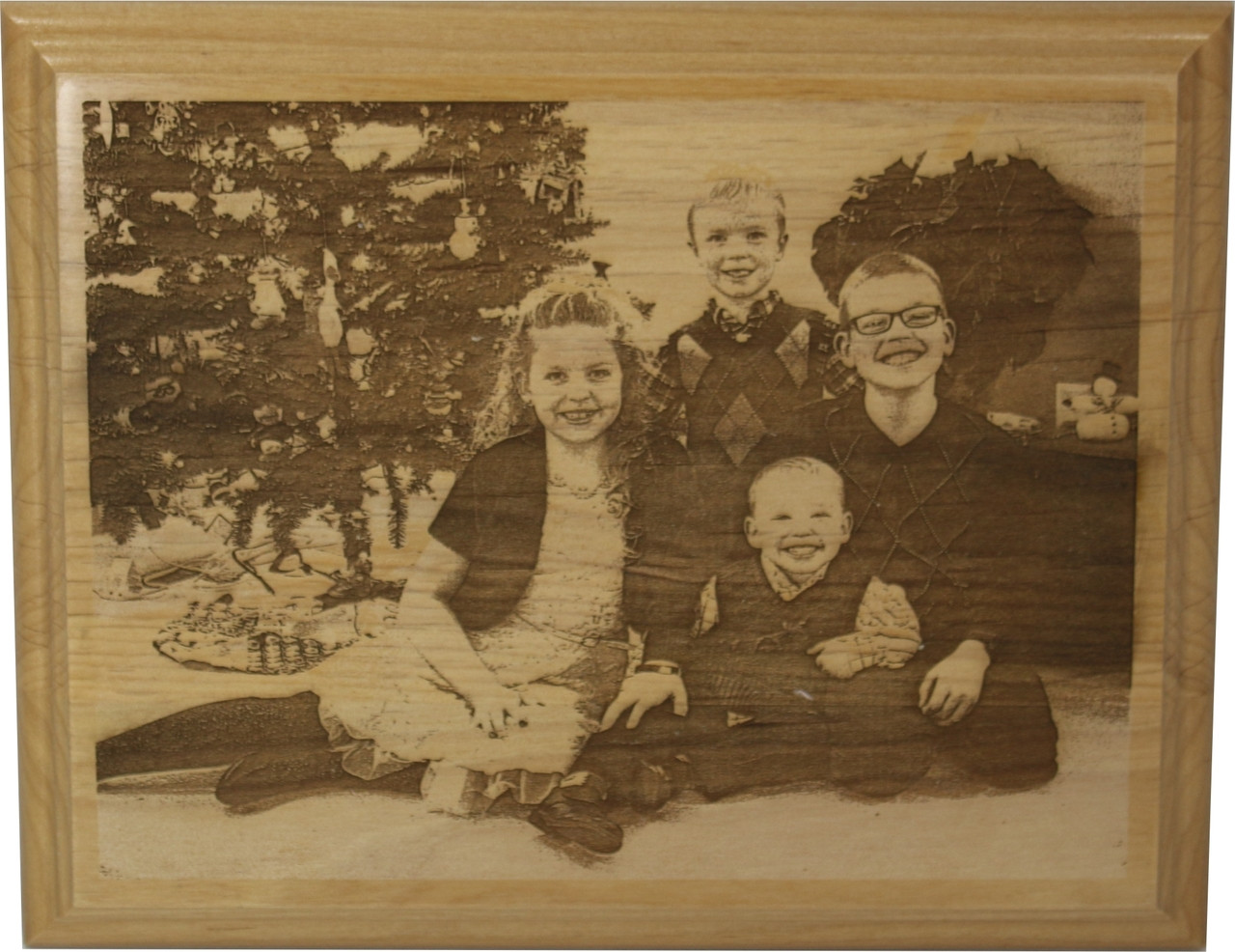 Custom Laser Engraved Wood Plaque Made from YOUR Photo(s) - Cin ...