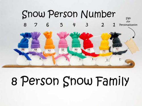8 Person Snow Family